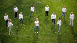 Gruppenfoto Team Austrian Exhibition Experts